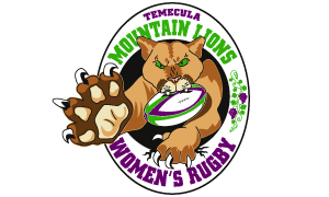 Women's Rugby Sports Team Logo