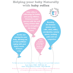 Baby Reflexology Flyer