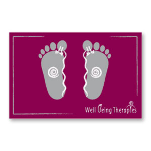 Baby Reflexology Foot Charts