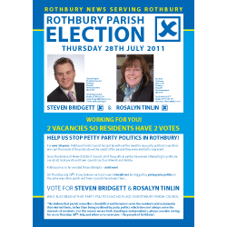 Parish Election Leaflet