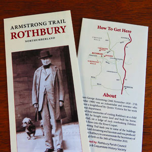 The Armstrong Trail Leaflet Front and Back