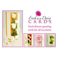 Flower Card Design Postcard