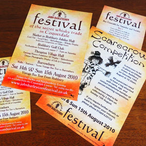 Festival Event Flyers