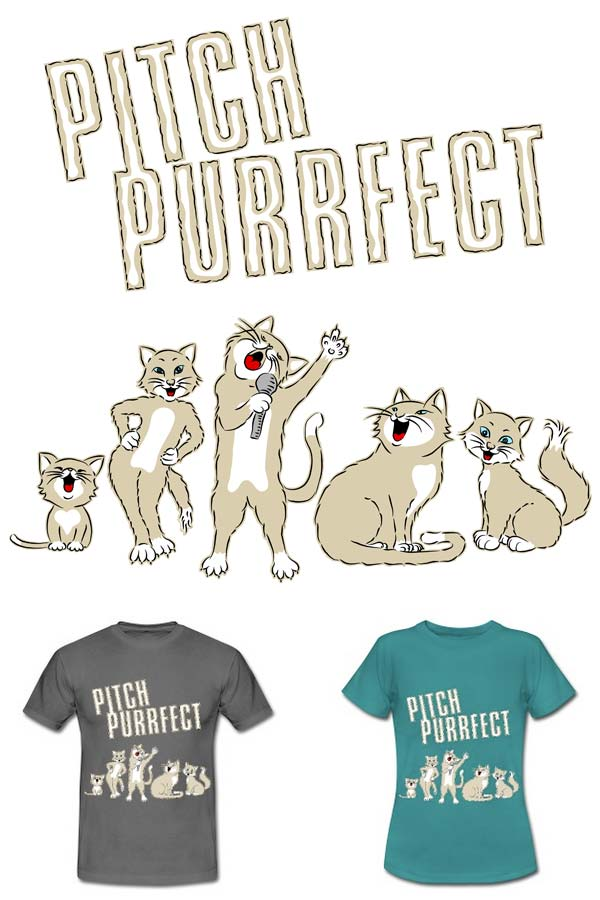 Pitch Purrfect T-Shirt